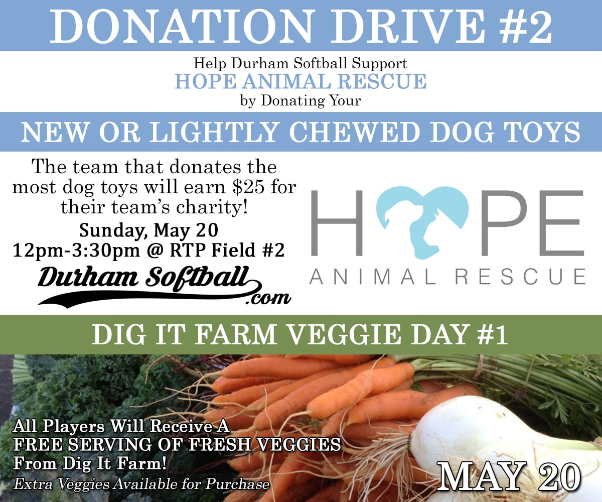 Donation Drive #2 - Dog Toys for Hope Animal Rescue!