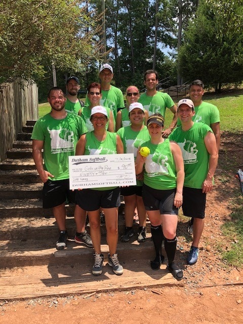 2018 Durham Softball Spring Girls on the Run