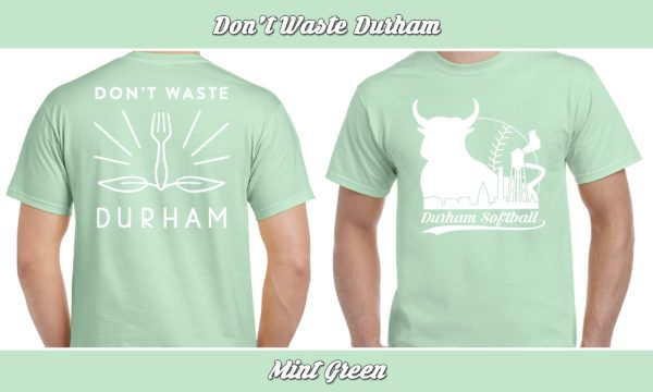 Don't Waste Durham plays rec adult softball for charity.