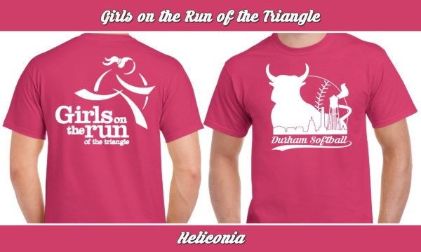 Girls on the Run of the Triangle plays rec adult softball for charity.