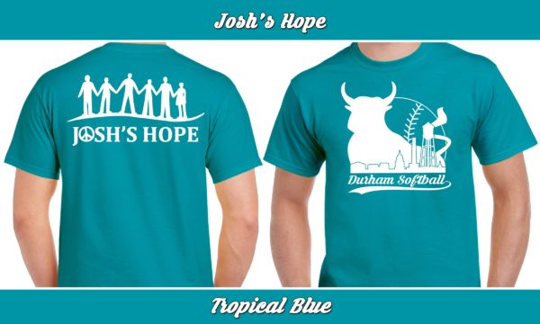 Josh's Hope plays rec adult softball for charity.