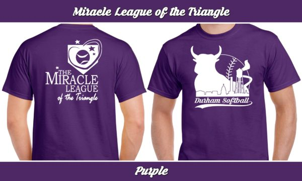Miracle League of the Triangle plays rec adult softball for charity.