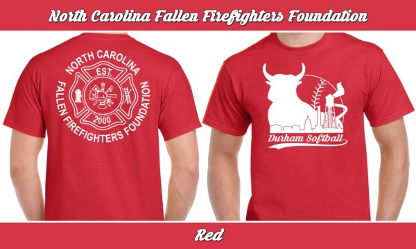 North Carolina Fallen Firefighters Foundation plays rec adult softball for charity.